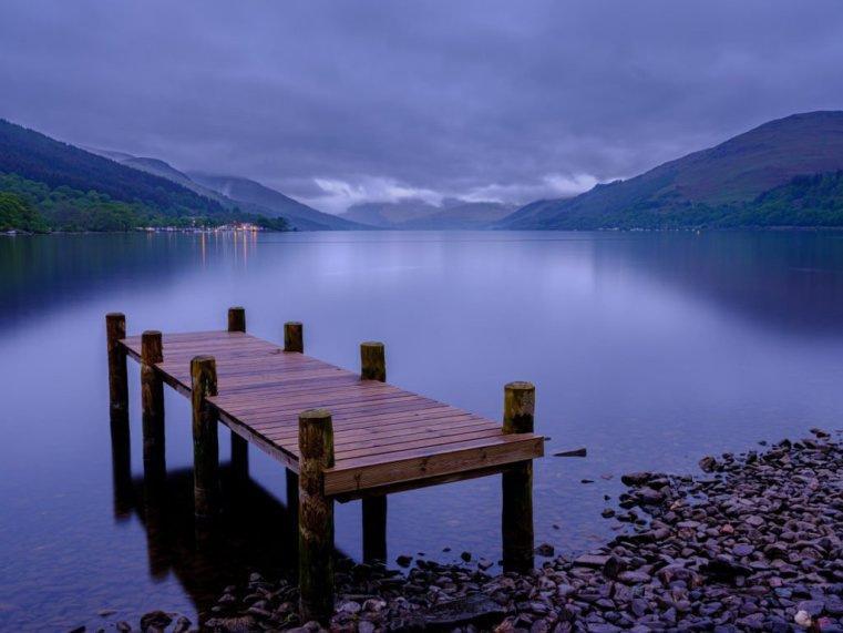 Loch Earn, Trossachs, Scotland