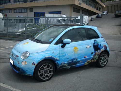Car Wrapping per cambiare il colore Auto Moto Caravan