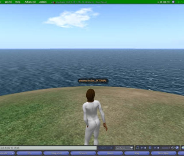 A Demo Of Opensims Version Of Html On A Prim Which Is Implemented Differently From The Ll Version And On The Right Is The Grafitti Board Written By