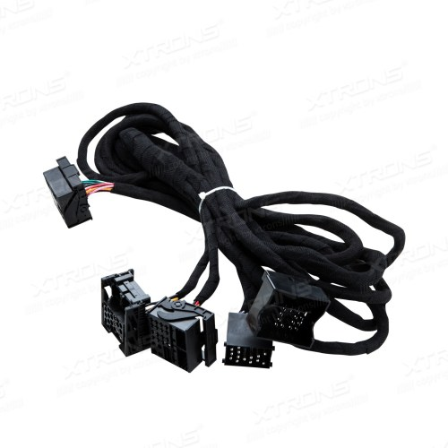 small resolution of extra long 6 meters iso wiring harness for bmw suitable for head unit with quadlock connection