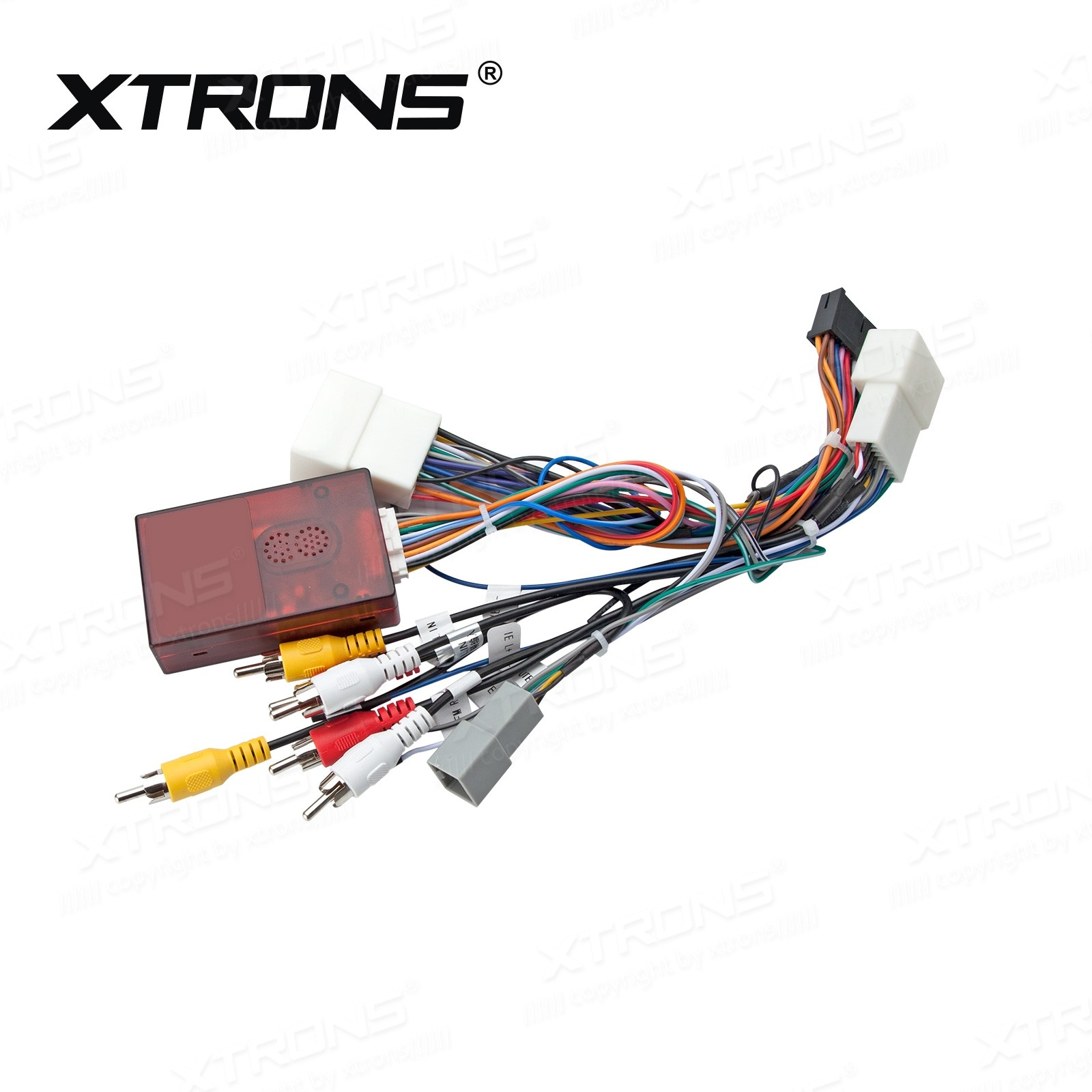 hight resolution of iso wiring harness rockford decoder for xtrons mitsubishi unit car dvd wholesalers