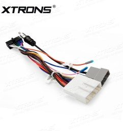 iso wiring harness cable for installation of xtrons td799dab td799g td623 td623dab in nissan cars car dvd wholesalers [ 1600 x 1600 Pixel ]