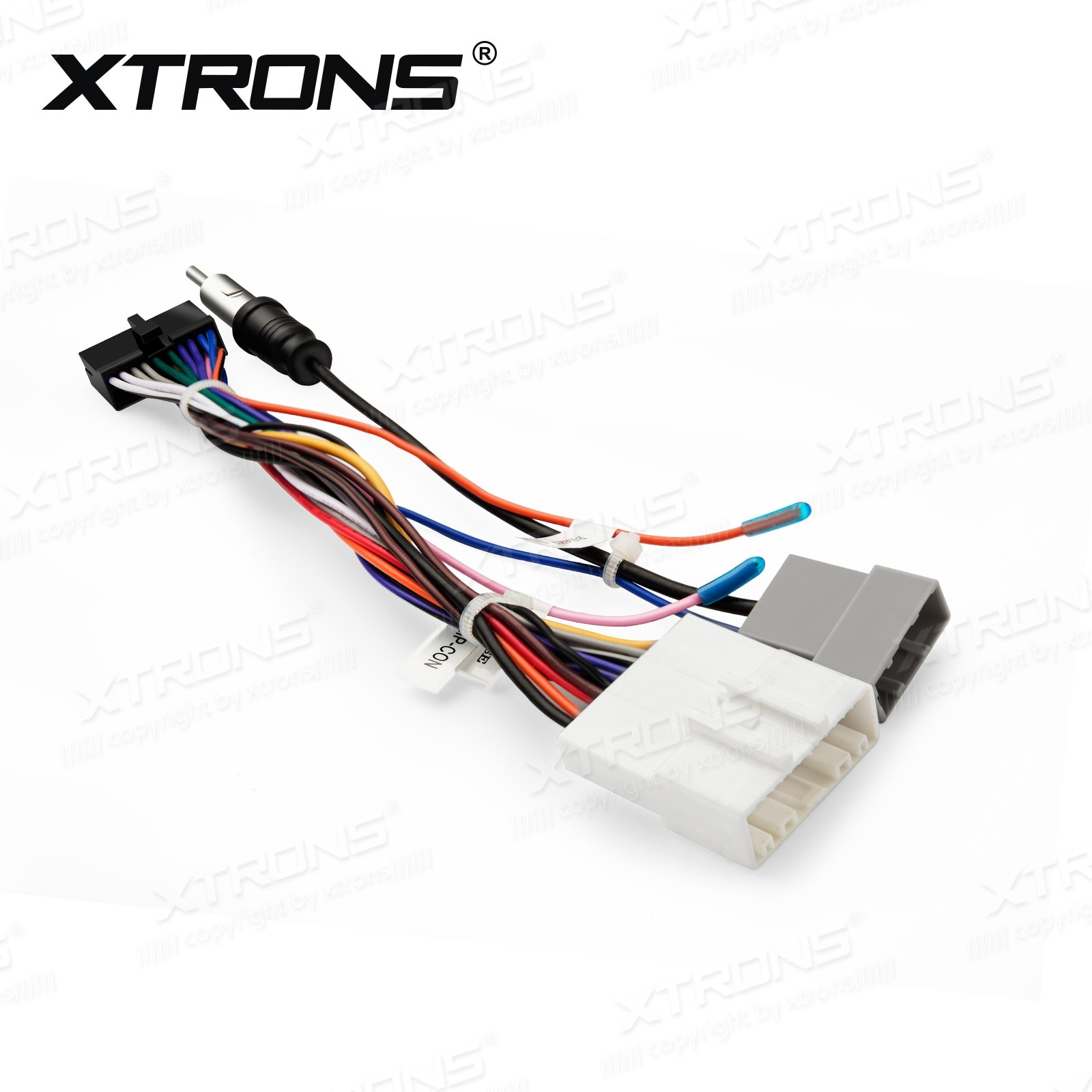 hight resolution of iso wiring harness cable for installation of xtrons td799dab td799g td623 td623dab in nissan cars car dvd wholesalers