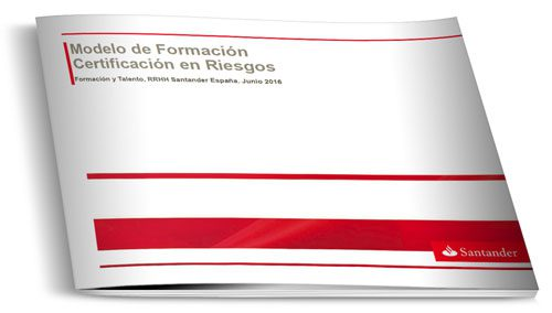 Modelo de Formación Certificación en Riesgos
