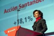 Resultados Año 2017: Santander gana 6.619 millones, un 7% más ¡todos merecemos premio!