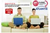 Ahora los afiliados/as pueden disponer de una cobertura gratuita de 18.000 € por accidente laboral