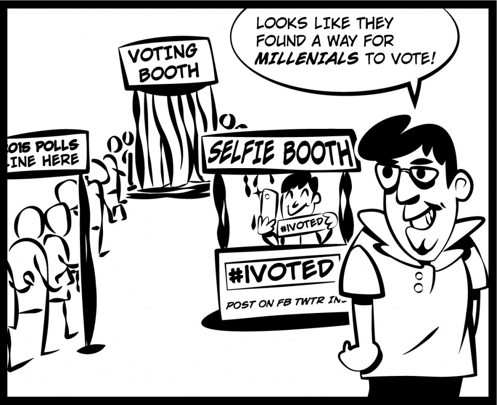 Vote for yourself-ie