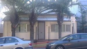 Das alte Haus was Teil der neuen WG von Athena ist.
