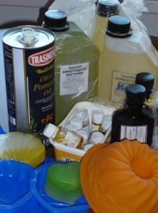 مواد تشکیل دهنده صابون
