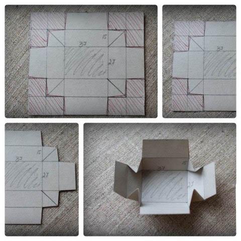 Бендермен қолдан жасалған жәшіктердің схемасы