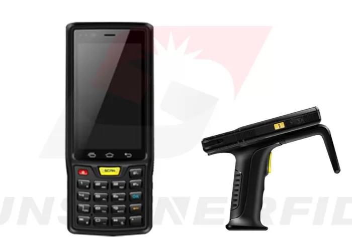 Handheld RFID Reader Android Industrial , 4G / WIFI / GPS ...
