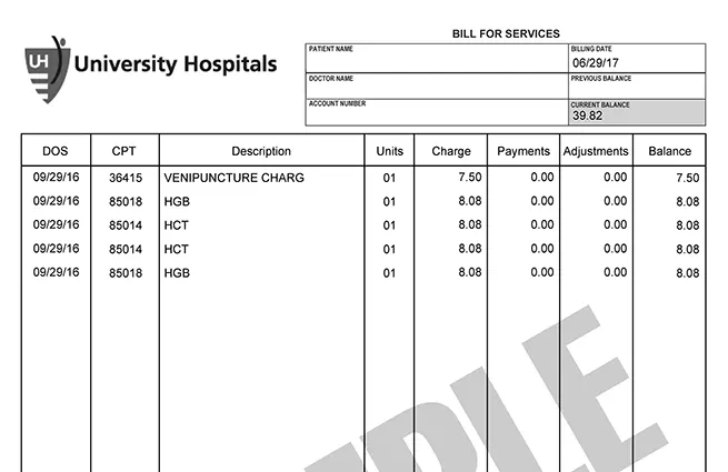 Pay Your Bill University Hospitals Cleveland OH