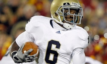 Theo Riddick - Notre Dame WR