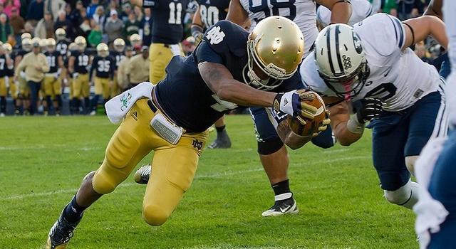 Breaking Down Notre Dame S 2013 Running Backs Notre Dame Football