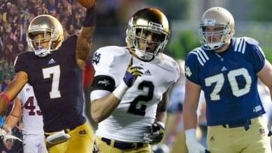 2013 Notre Dame Football Captains