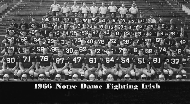Notre Dame's 1966 National Championship