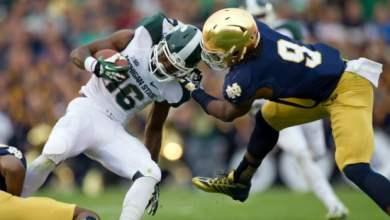 Jaylon Smith - Notre Dame vs. Michigan State