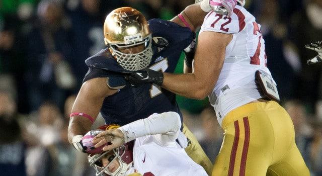 Stephon Tuitt - Notre Dame vs. USC