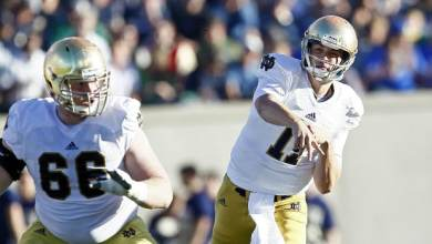Tommy Rees - Notre Dame vs. Air Force
