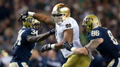 Stephon Tuitt - Notre Dame vs. Pitt