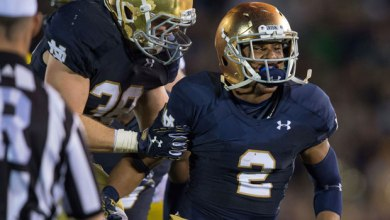 Cody Riggs - Notre Dame v. Michigan