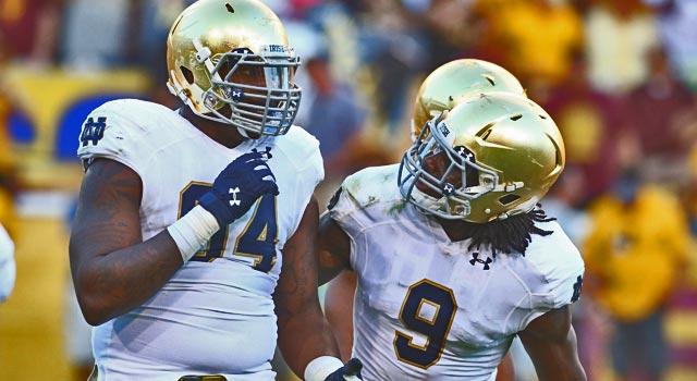 Jaylon Smith & Jarron Jones - Notre Dame Defenders