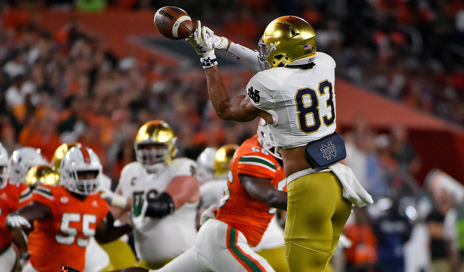 Notre Dame Vs Navy 17 Matchups Thatll Determine