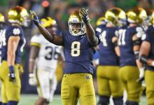 Notre Dame RB Jafar Armstrong