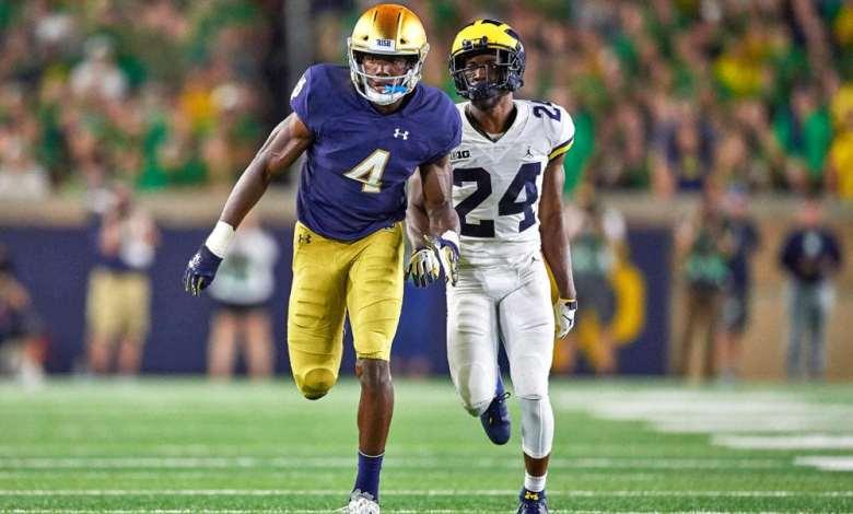 Notre Dame WR Kevin Austin