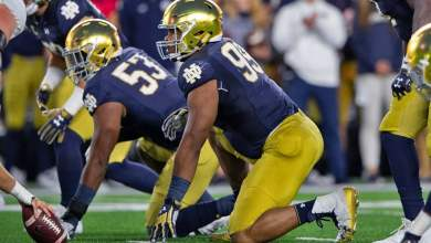 Notre Dame's pass rush has been a force to be reckoned with in 2018