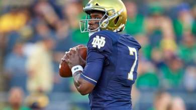 Brandon Wimbush will get one more start in Notre Dame Stadium