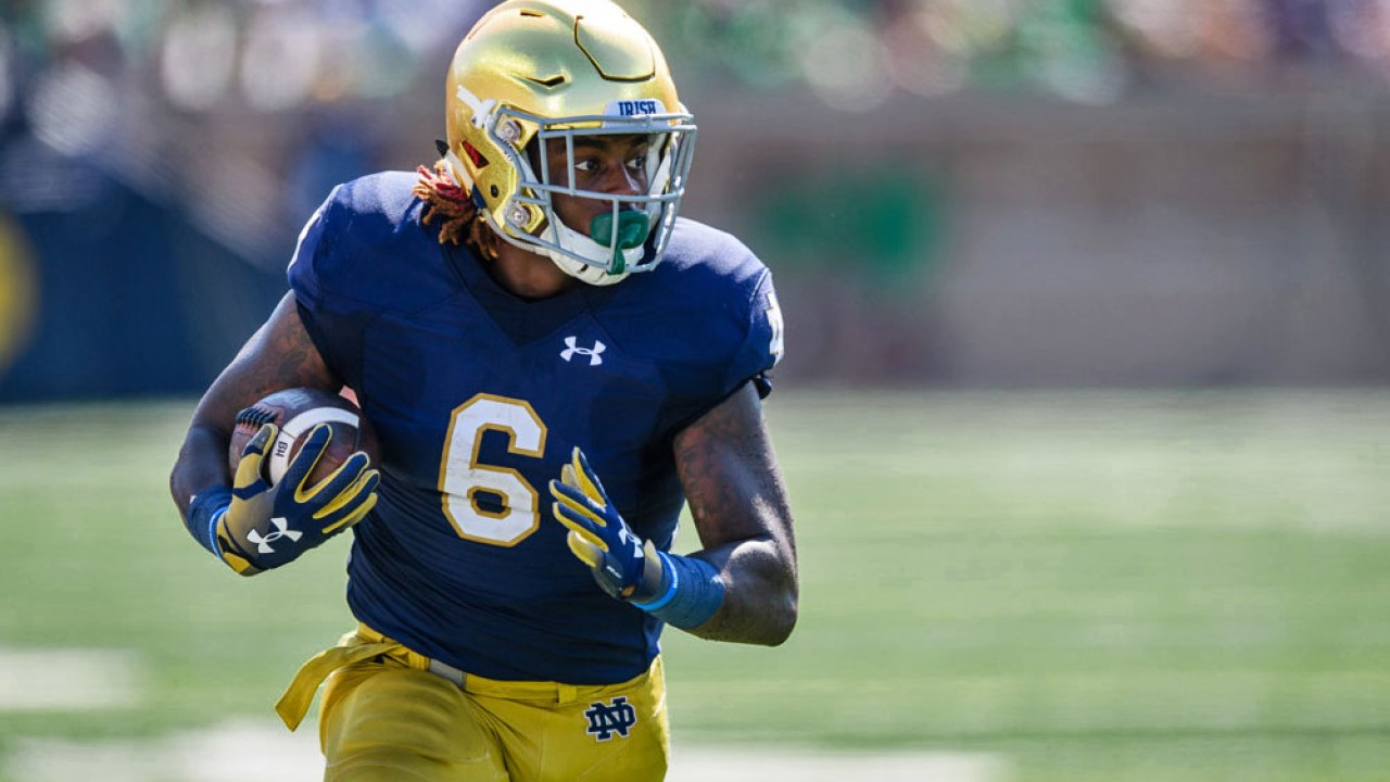 Reassessing Notre Dame S No So Bare Running Back Cupboard Uhnd Com