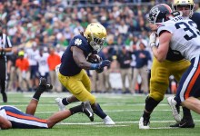 Notre Dame RB Tony Jones Jr