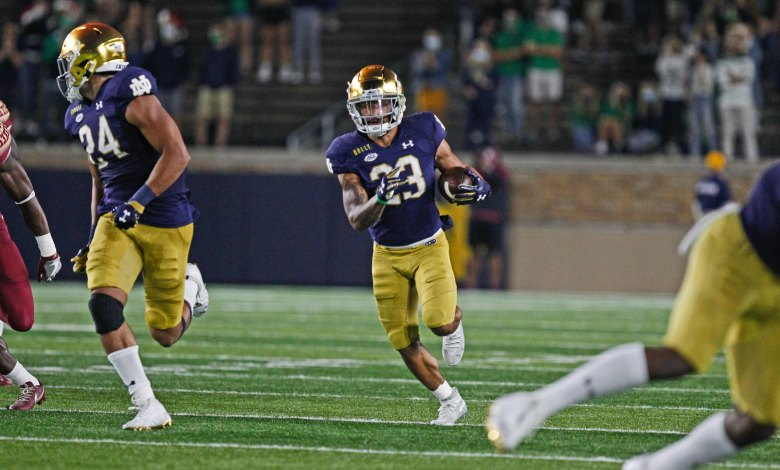 notre dame football schedule - photo #26