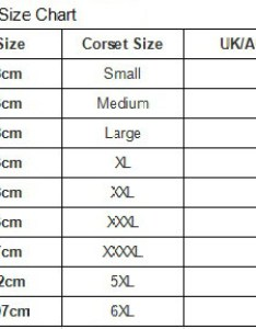 These garments will not pull your waist in at all to select perfect size of fashion corset simply choose uk au dress also chart uhnice rh