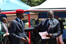 Kimilili MP Didmus Barasa with William Ruto