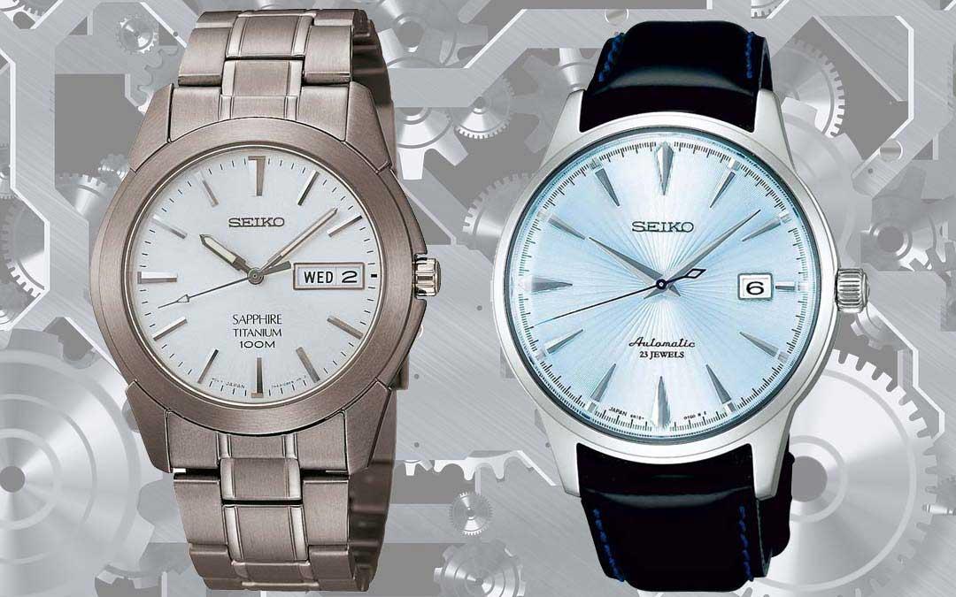 Bedienungsanleitungen für Seiko Uhren