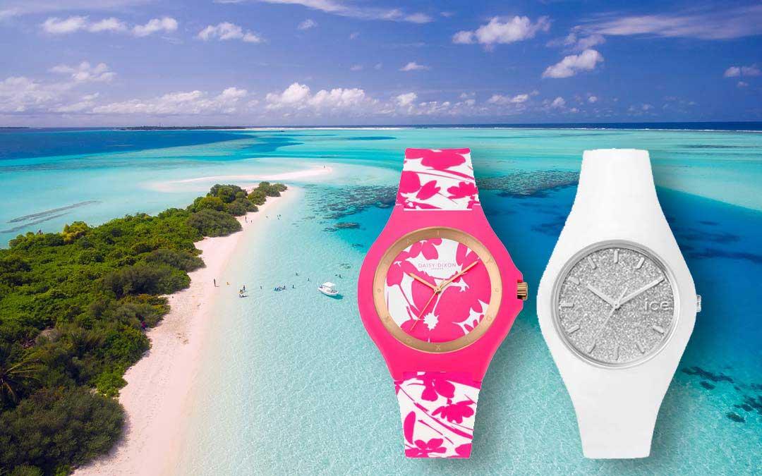 Frische Armbanduhren für den Sommer