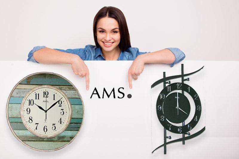 AMS Wanduhren- Die Sonder-Edition