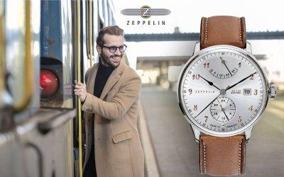 Wie funktioniert eine Automatikuhr? Die Zeppelin 7062-5