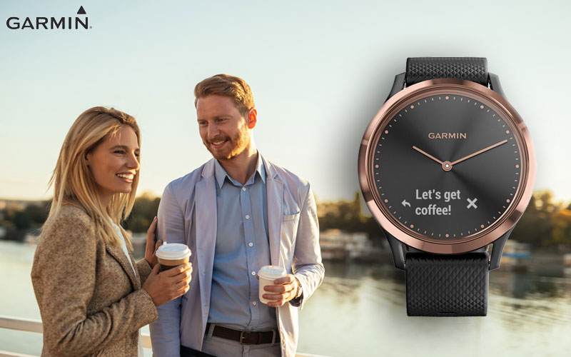 Die Smartwatch Garmin 010-01850-06