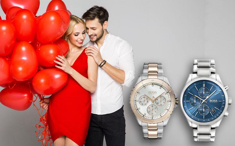 Eine Armbanduhr zum Valentinstag schenken