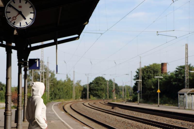 Bahnhof Industrieuhren