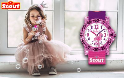 Scout 375.017 Kinderuhr zum deutschen Kindertag