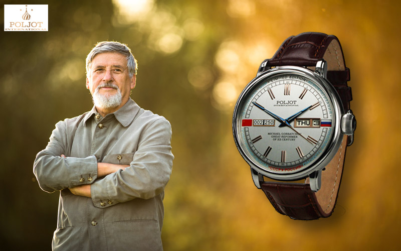 Poljot International Uhren aus der Gorbatchov Serie