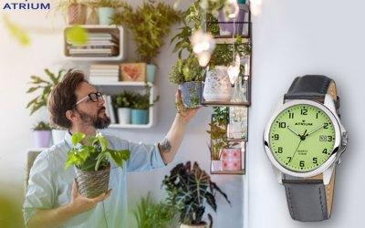Grün – Nachhaltigkeit in der Atrium A16-12 Herrenuhr