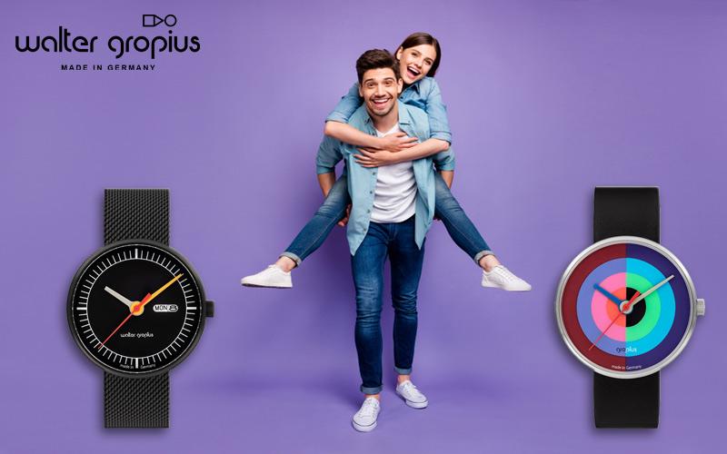 Die neuen Walter Gropius Armbanduhren