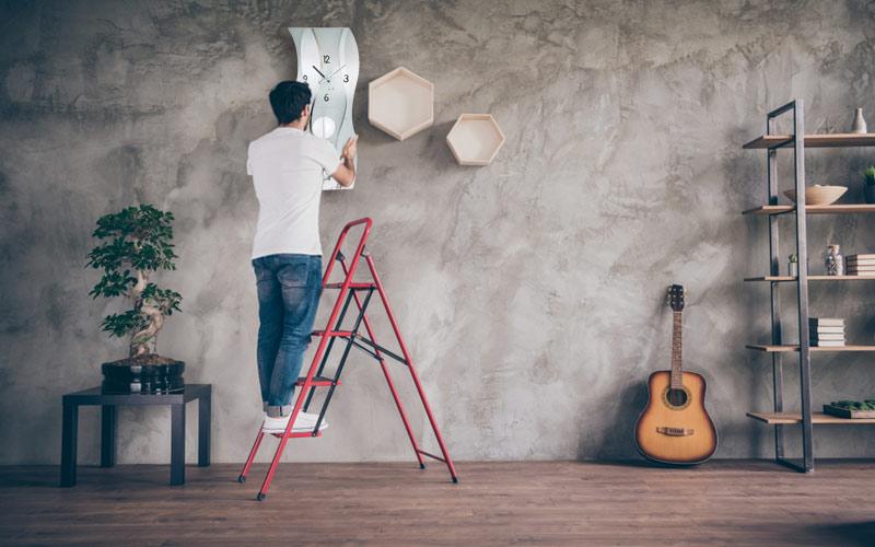 Pendeluhren auspacken, ausrichten und korrekt aufbauen
