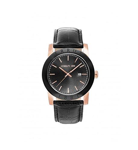Cerruti Herren-Armbanduhr CRA160SRB02BK