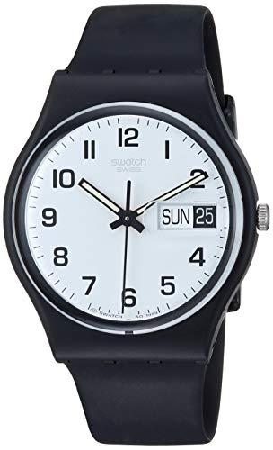 Swatch Herren-Armbanduhr Once Again Analog Quarz GB743